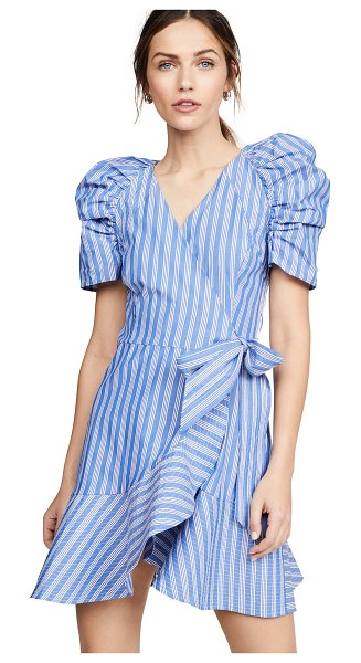 C/Meo Collective motivations dress in blue stripe