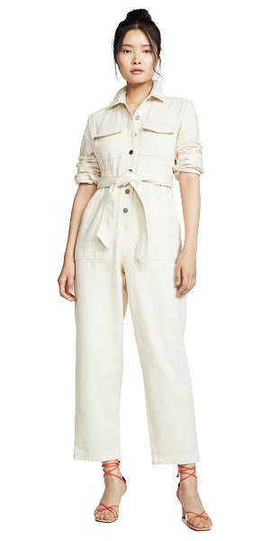 C/Meo Collective reiterate jumpsuit in chalk