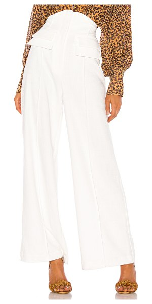 C/MEO collisions pant in ivory