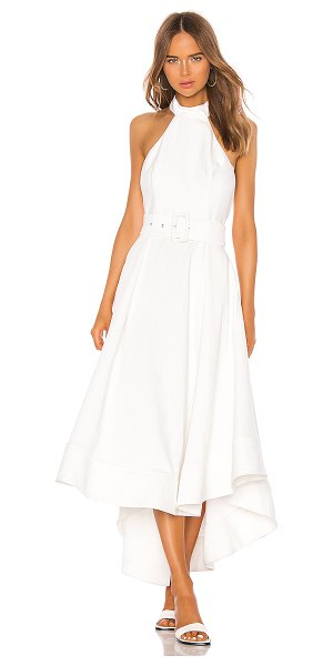 C/MEO confirmative gown in chalk