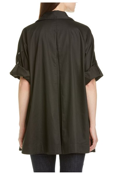 Co. button-up shirt in black