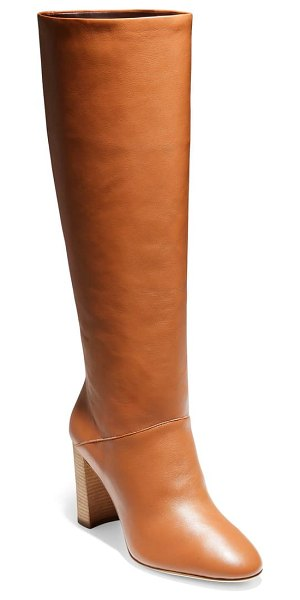 Cole Haan perfect pairs glenda knee high boot in british tan leather