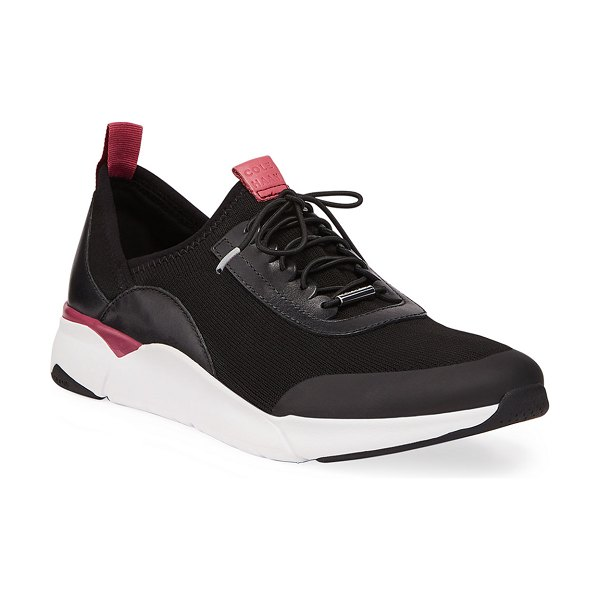 Cole Haan Grand Sport Knit Trainers in black