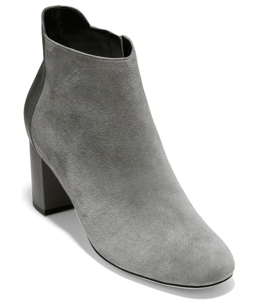 Cole Haan nella bootie in quiet shade suede