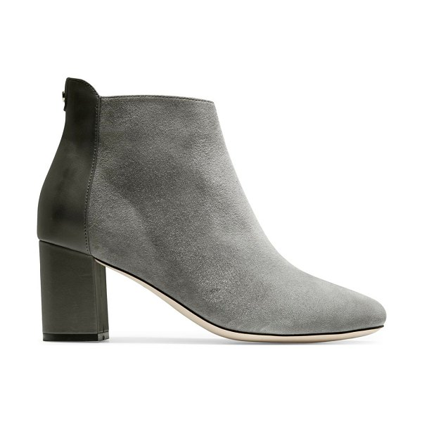 Cole Haan nella suede & leather ankle boots in grey