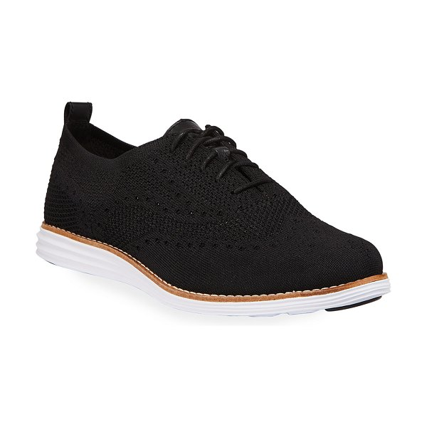 Cole Haan Original Grand Stitchlite Oxford Sneakers in black