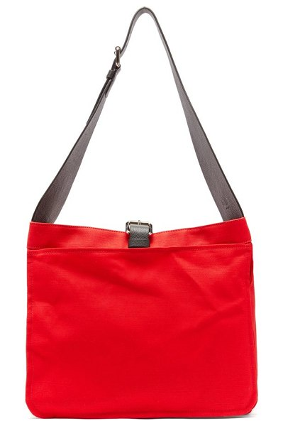 COLVILLE canvas garden bag in red