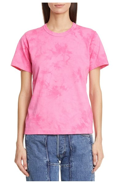 Comme Des Garcons cotton t-shirt in pink 1