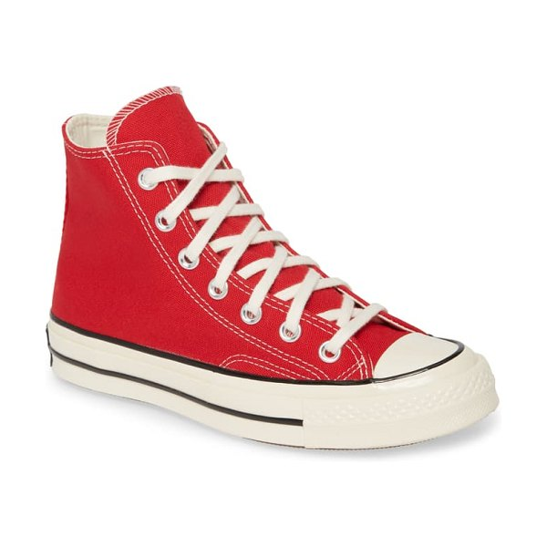 Converse chuck taylor all star 70 always on high top sneaker in enamel red/ egret/ black