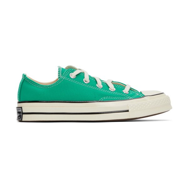 Converse green chuck 70 ox sneakers in court green