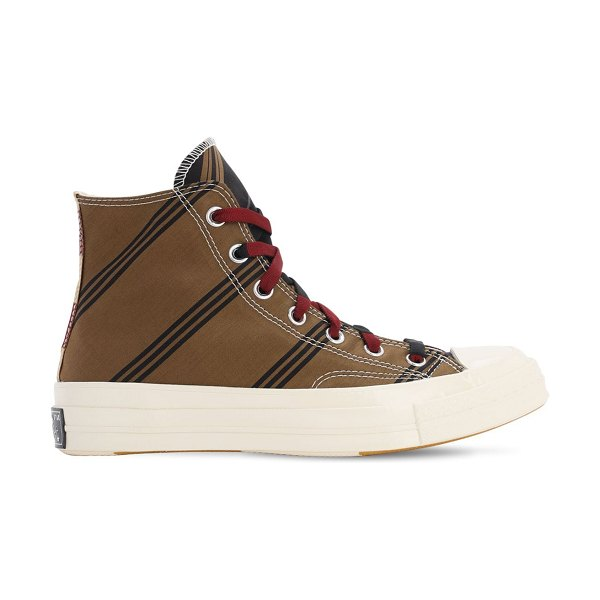 Converse Varsity chuck 70 sneakers in tan,burgundy