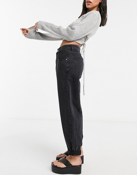 Cotton:On cotton: on slouch mom jeans in black in black