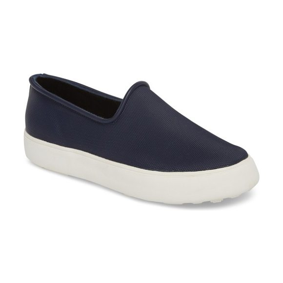 COUGAR rainy day waterproof slip-on sneaker in indigo - This waterproof sneaker keeps your style sporty-chic...