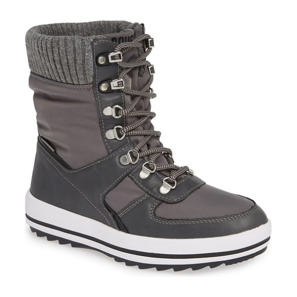 COUGAR vergio waterproof winter boot in grey fabric