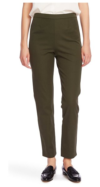 Court & Rowe slim stretch twill pants in olive fern