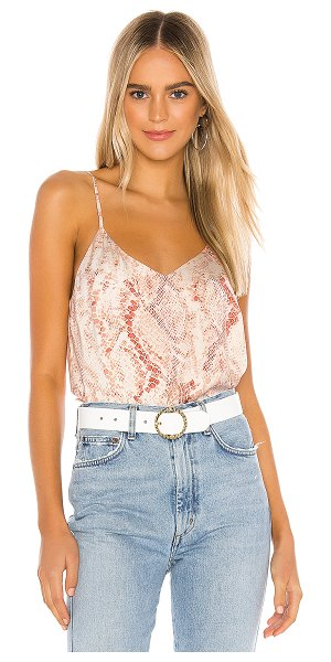 cupcakes and cashmere hermosa cami in soft beige