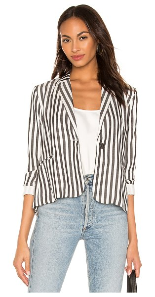 cupcakes and cashmere Winston Blazer in black & white