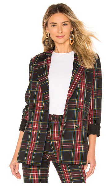 Cynthia Rowley plaid blazer in plaid - Cynthia Rowley Plaid Blazer in Black. - size S (also in...