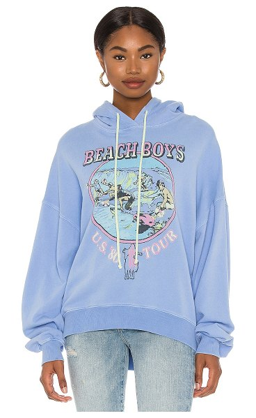 DAYDREAMER the beach boys tour hoodie in periwinkle