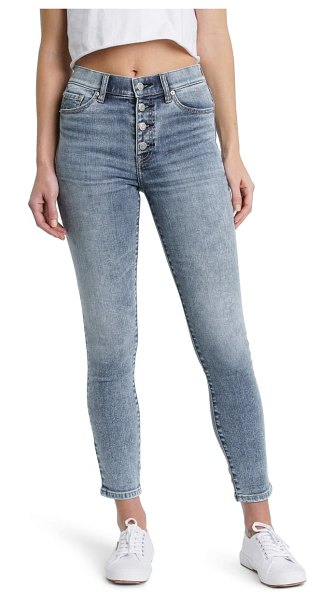 DAZE call you back high waist skinny jeans in fast times