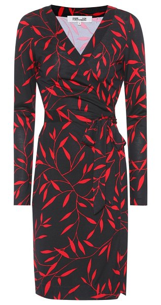 Diane von Furstenberg Julian printed silk wrap dress in multicoloured - Diane von Furstenberg's signature wrap dress has been...