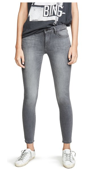 DL 1961 1961 emma low rise skinny jeans in overcast