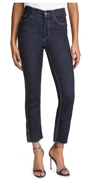 DL 1961 1961 better by  mara ankle high rise straight jeans in snyder