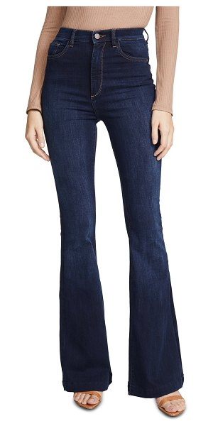 DL 1961 1961 rachel high rise flare jeans in foster