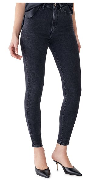 DL 1961 Chrissy Ankle Ultra High Rise Ankle Skinny Jeans in camarillo