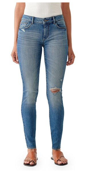 DL 1961 Emma Low-Rise Skinny Jeans in mogadore