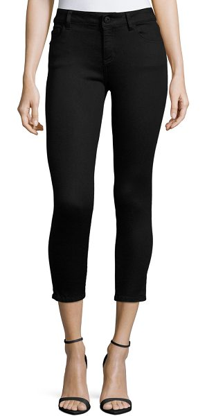 DL 1961 Florence Skinny Cropped Jeans in hail