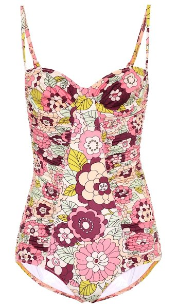 Dodo Bar Or floral swimsuit in pink