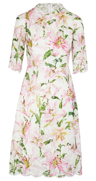 Dolce & Gabbana Floral print dress in rosa