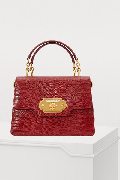 Dolce & Gabbana Welcome top handle bag - Dolce & Gabbana drew inspiration from retro fashion to...