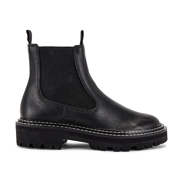 Dolce Vita moana boot in black leather