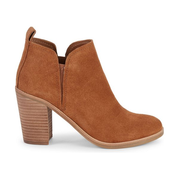 Dolce Vita Sullie Suede Booties in brown