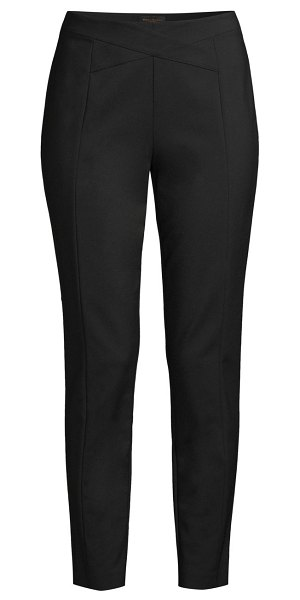 Donna Karan wrap top pants in black