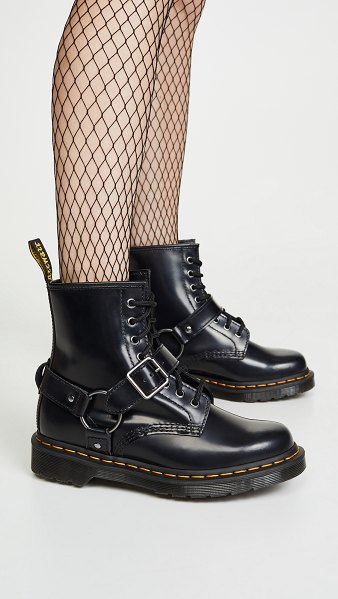Dr. Martens 1460 harness boots in black