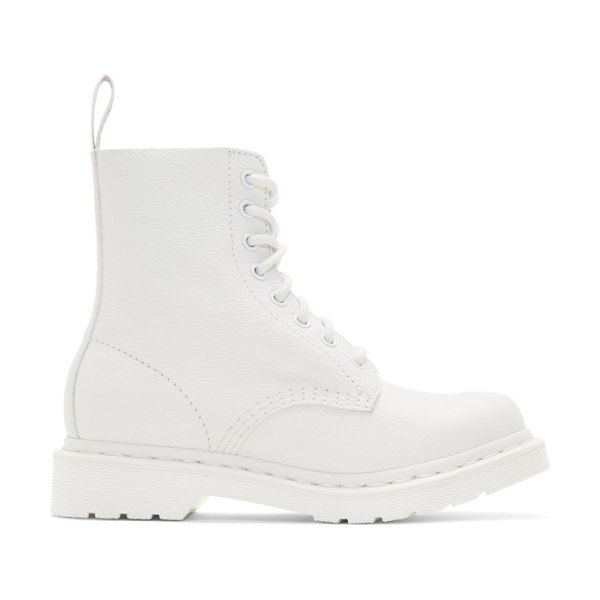 Dr. Martens 1460 pascal boots in white