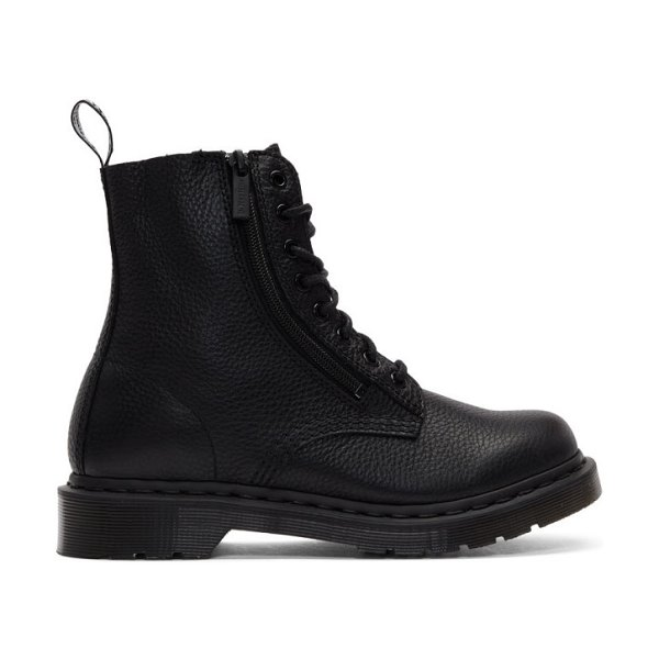 Dr. Martens 1460 pascal zip boots in black