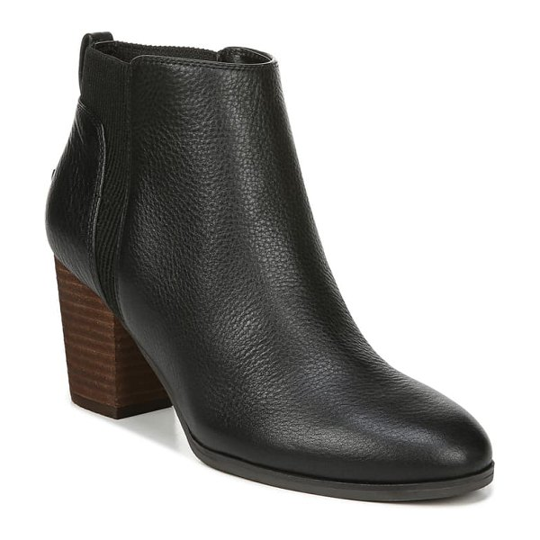 Dr. Scholl's all yours bootie in black leather
