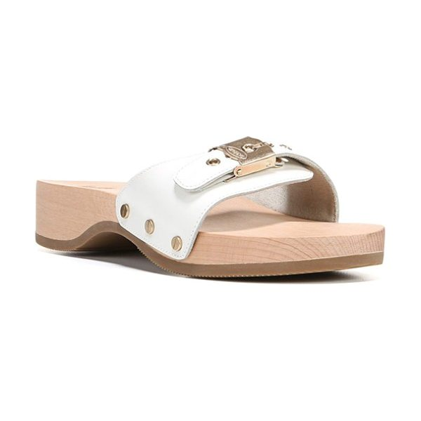 Dr. Scholl's original collection sandal in white