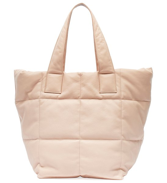 Dries Van Noten Soft Quilted Tote Bag in rose