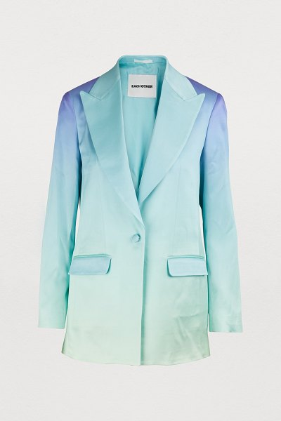 EACH x OTHER Rainbow jacket in multicolor - Each x Other x Tomorrow Showroom revisits the classic...