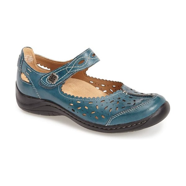 Earth earth 'tanglewood' calfskin leather mary jane in shadow blue