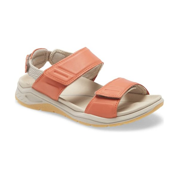 ECCO x-trinsic sandal in apricot leather