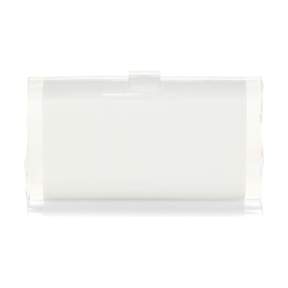 EDIE PARKER lara backlit clutch - Hand-poured acrylic clutch with glossy finish. Acrylic...