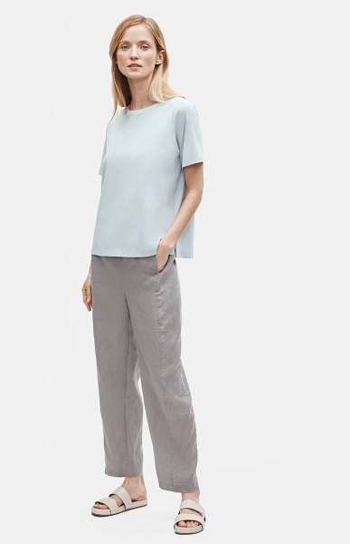 Eileen Fisher crewneck t-shirt in dawn