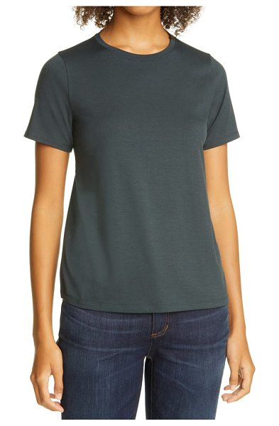 Eileen Fisher crewneck  t-shirt in forest night
