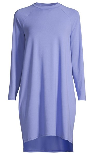 Eileen Fisher raglan t-shirt dress in hydra